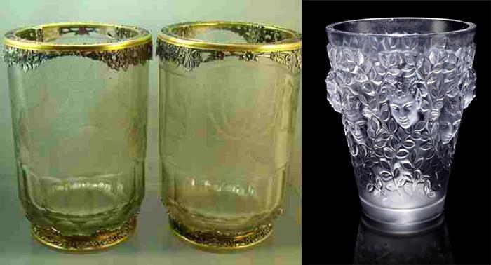 старинные стаканы - настоящие произведения искусства фото