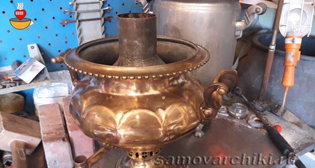 Реставрация и ремонт самоваров, а также антиквариата из металла